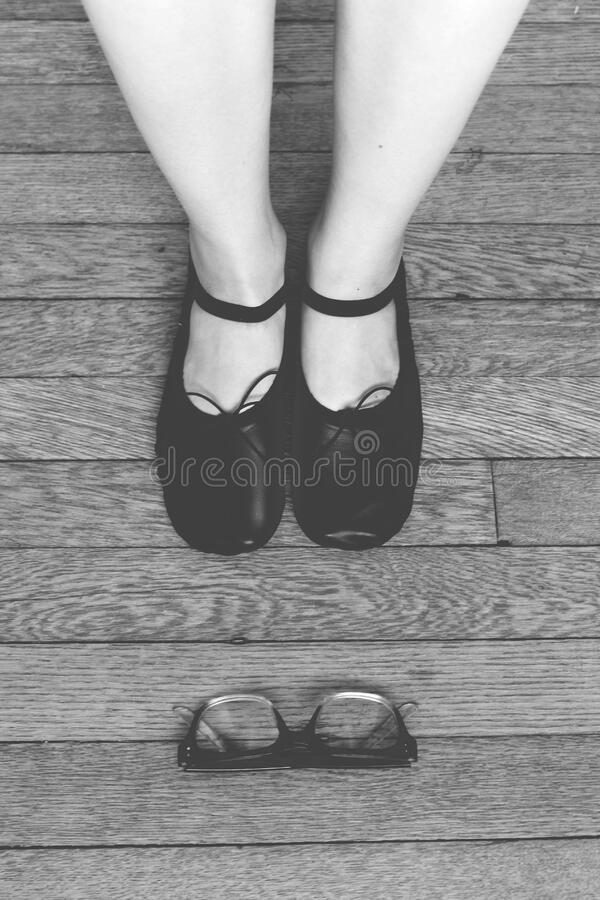 Black Leather Mary Jane Shoes Free Public Domain Cc0 Image