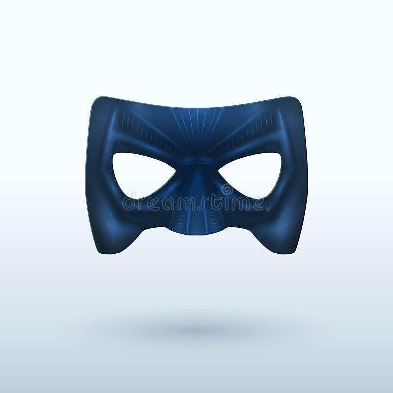 Download Black Leather Mask For Superhero. Stock Vector - Image: 33027580