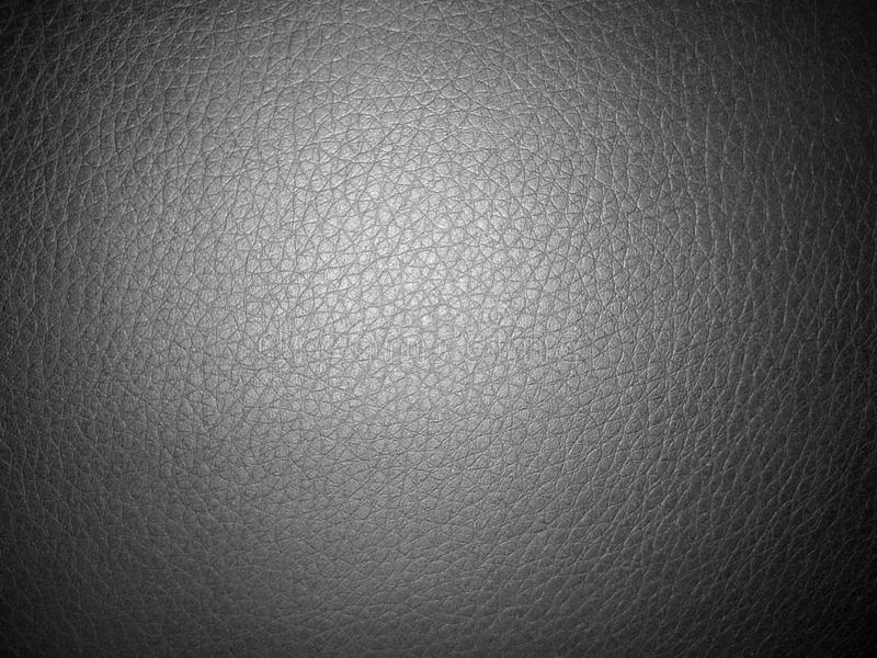 Black leather texture for background stock image