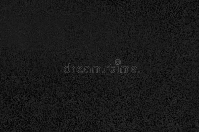 Black leather texture as background stock photography