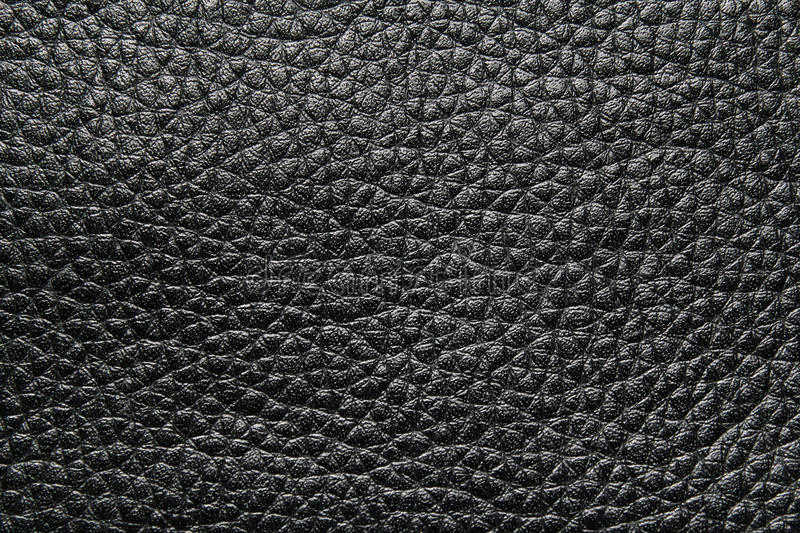 Black leather texture. Or background royalty free stock image