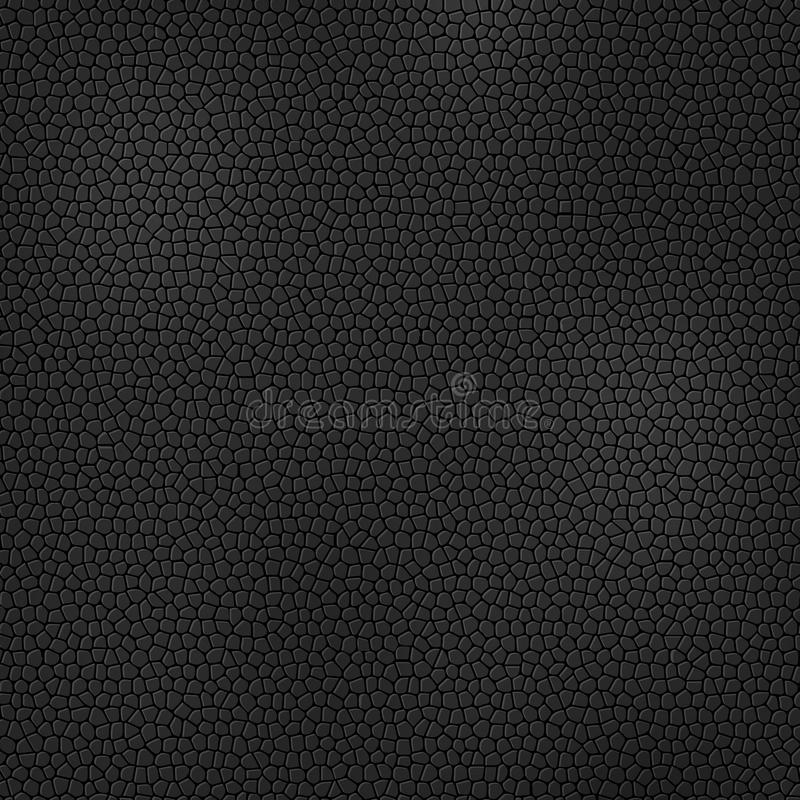 Black leather texture. Background, card or cover template royalty free illustration