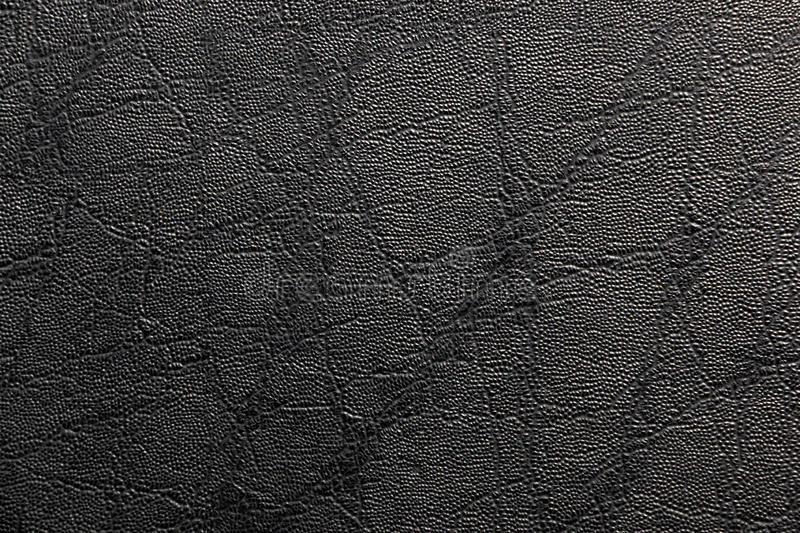 Black Leather Texture for Background royalty free stock image