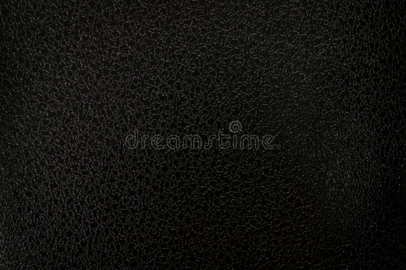 Black Leather Texture for Grunge Design. Black leather texture with a mottled worn look for a grunge style abstract design or background stock images