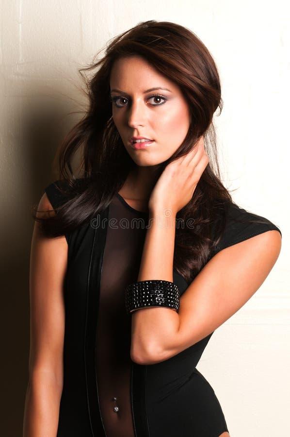 Download Black leotard stock image. Image of lovely, female, beauty - 22685009