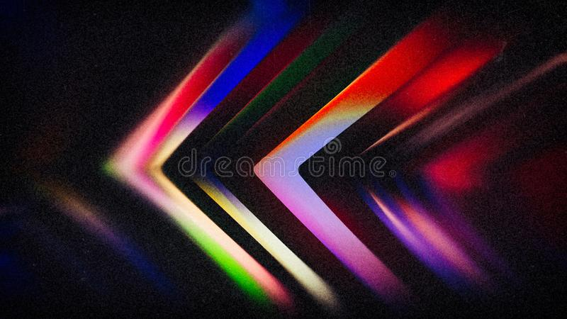 Black Light Colorfulness Beautiful elegant Illustration graphic art design Background. Black Light Colorfulness Background Beautiful elegant Illustration graphic stock illustration