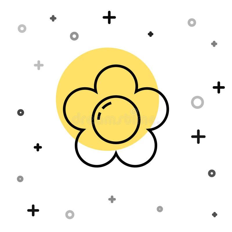 Black White Flower Icon Stock Illustrations 58,073 Black