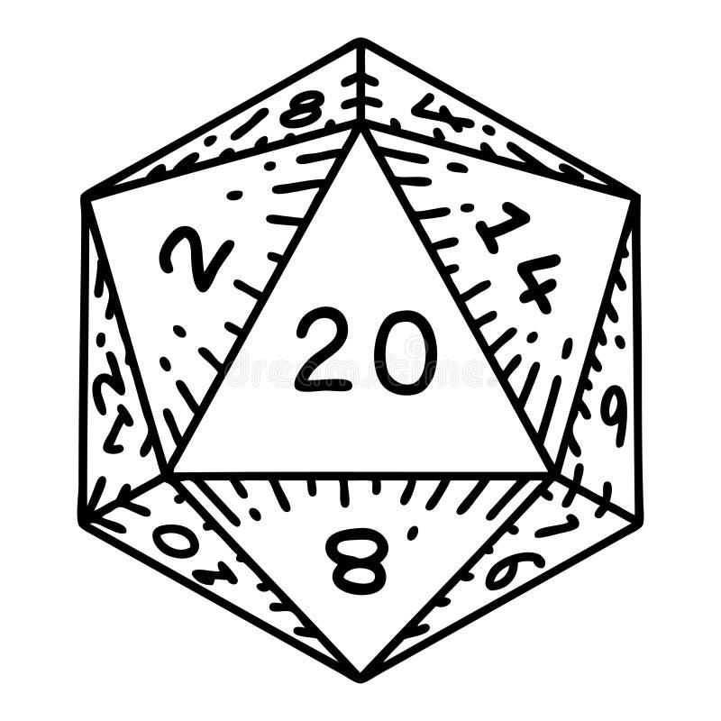 D20 Vector
