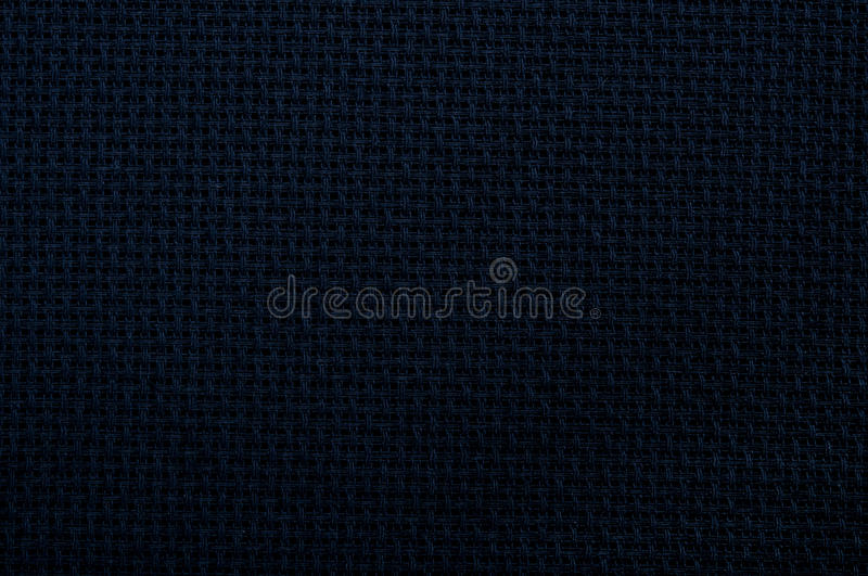 Black Linen Canvas Texture Royalty Free Stock Images