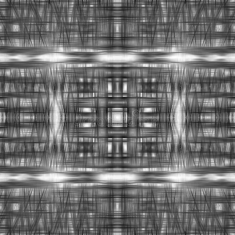 Black lines grid pattern. Black and white lines grid pattern background vector illustration