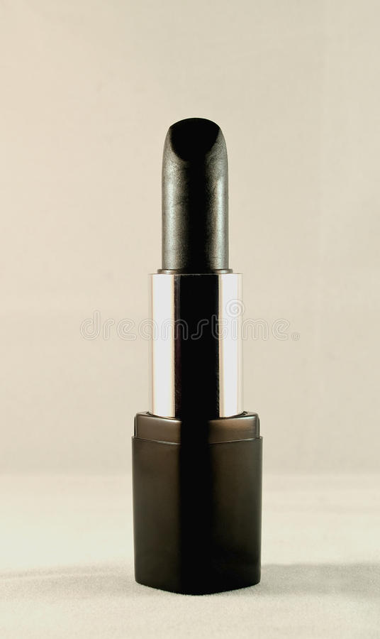 Download Black lipstick stock image. Image of beauty, cosmetics - 16284309