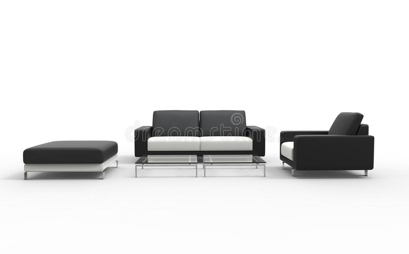 download black living room set stock photo image of couch armchair