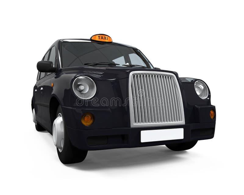 Black London Taxi royalty free illustration