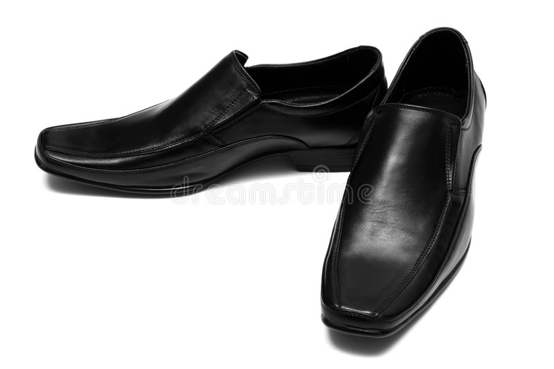 Download Black Low Shoes Stock Image - Image: 6095841