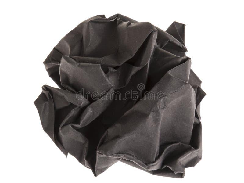 Black lump paper stock photos