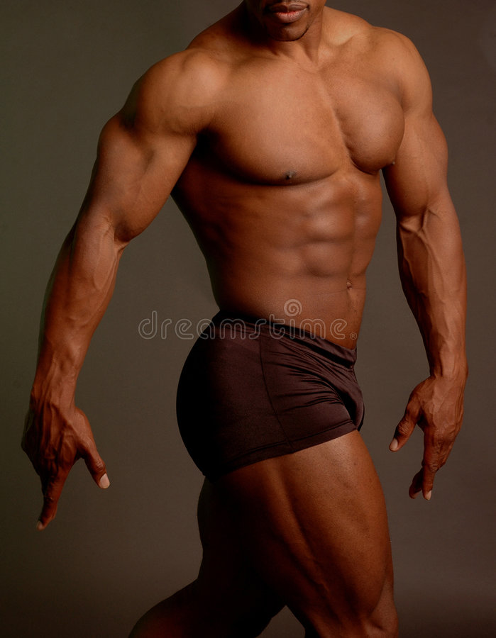Black male royalty free stock images