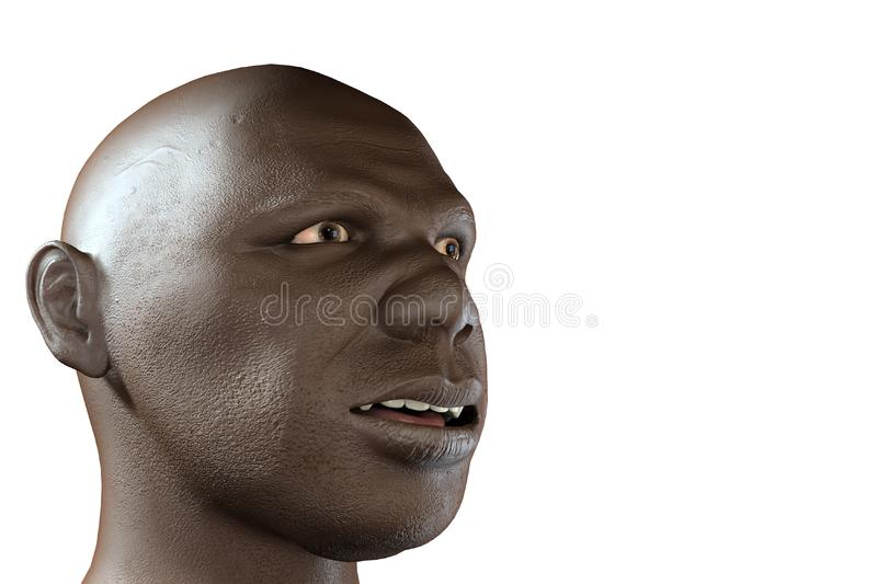 Black man stock photo