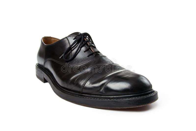 Black man business shoe stock images