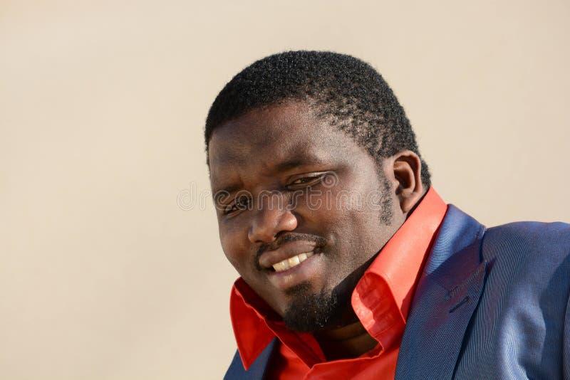 Download Black man smiling stock image. Image of american, model - 32678397