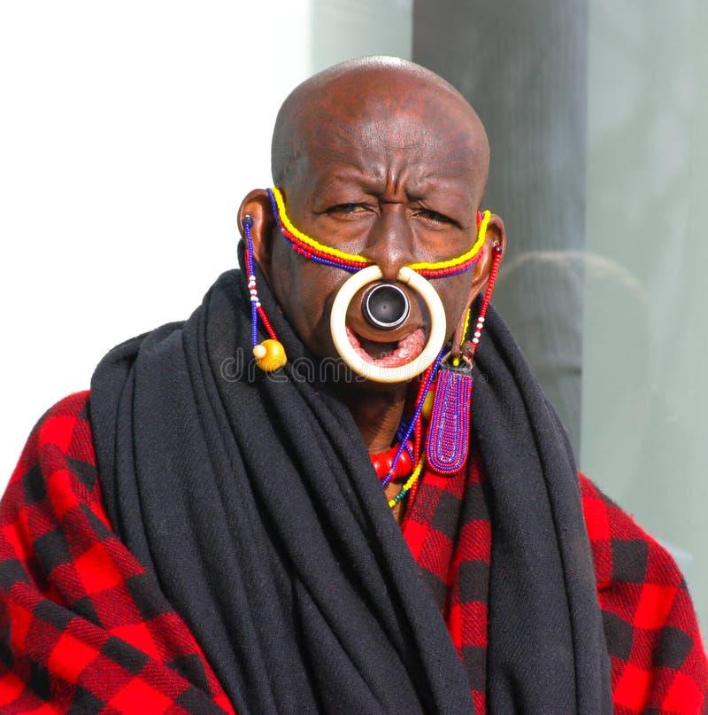 Free Black Man With Piercing Stock Image - 26383471