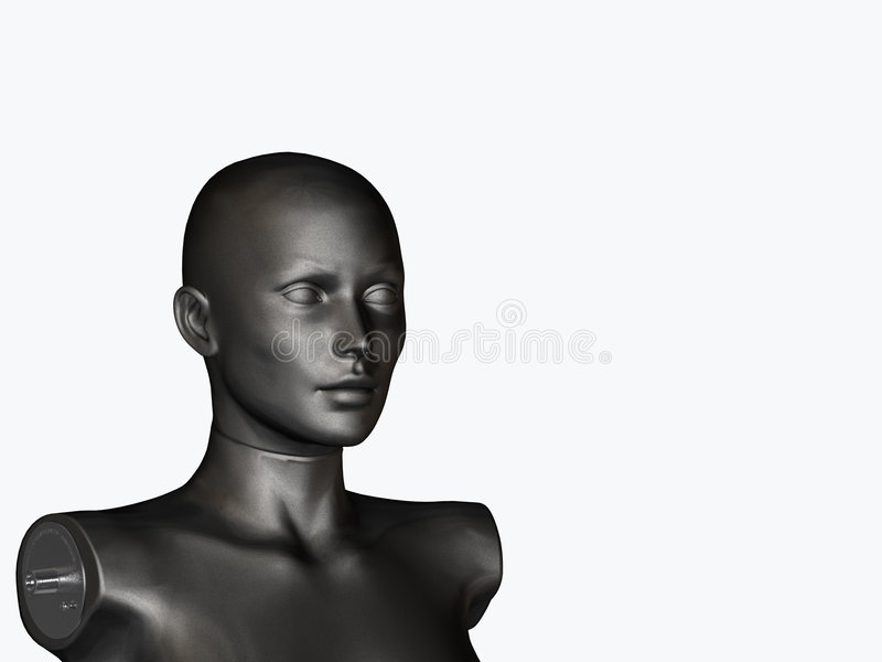Black Mannequin Royalty Free Stock Images