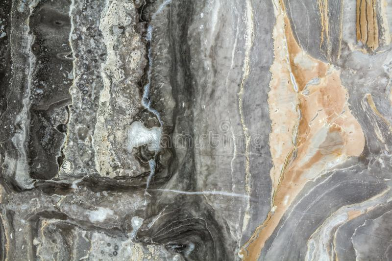Black marble abstract background pattern with high resolution. Vintage or grunge background of natural stone old wall texture. royalty free stock photos