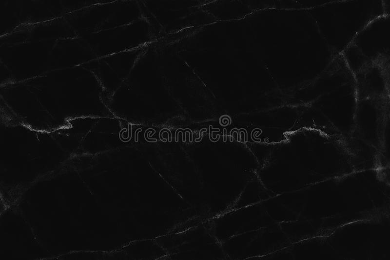 Black marble background. pattern dark texture blank for design.  stock photography