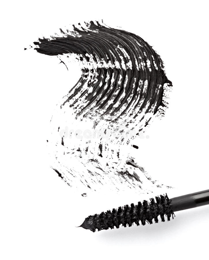 Black mascara stock images