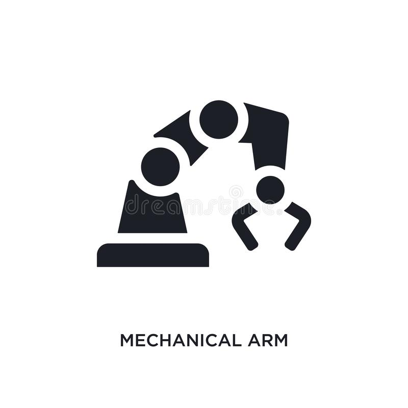Mechanical Manufacturing Logo Stock Vector