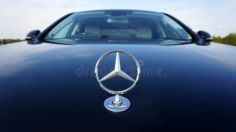 Black Mercedes-benz Car stock photos