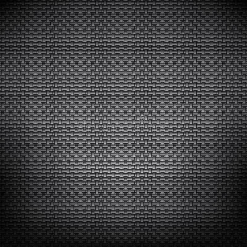 Black metal background stock illustration