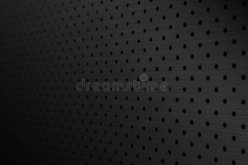 Black metal background stock photo