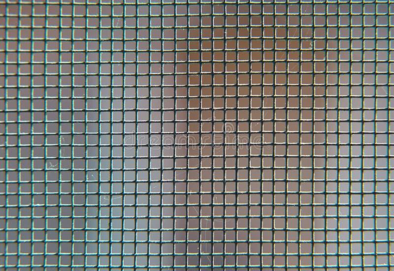 Black metal mesh background stock images
