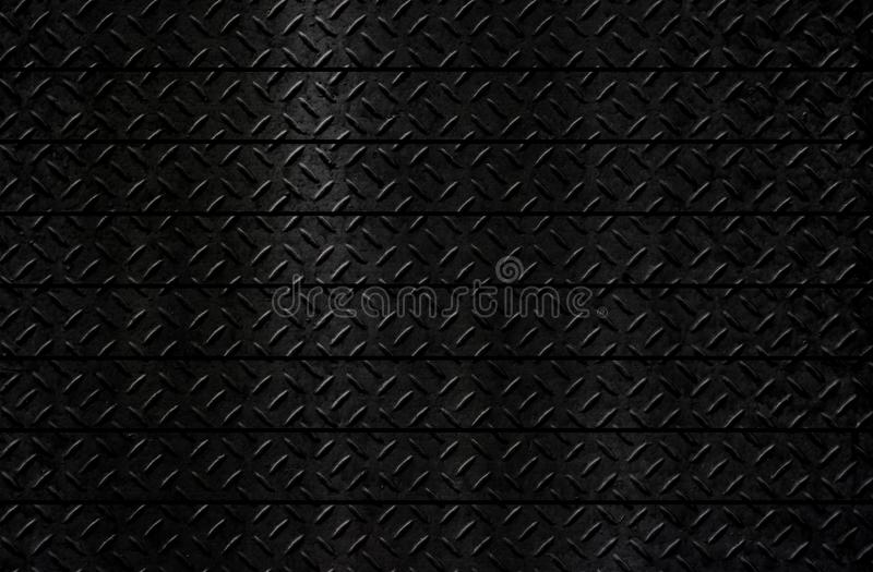 Black metal texture background stock image