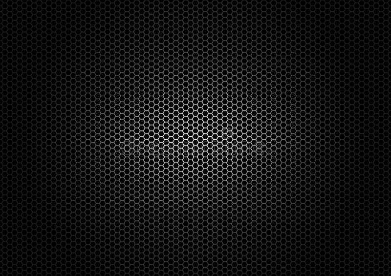 Black metal texture background royalty free illustration