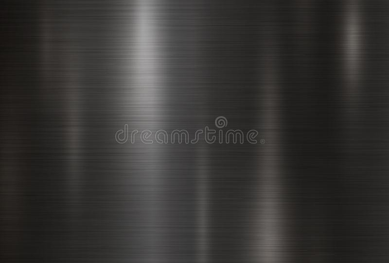 Black metal texture background vector illustration