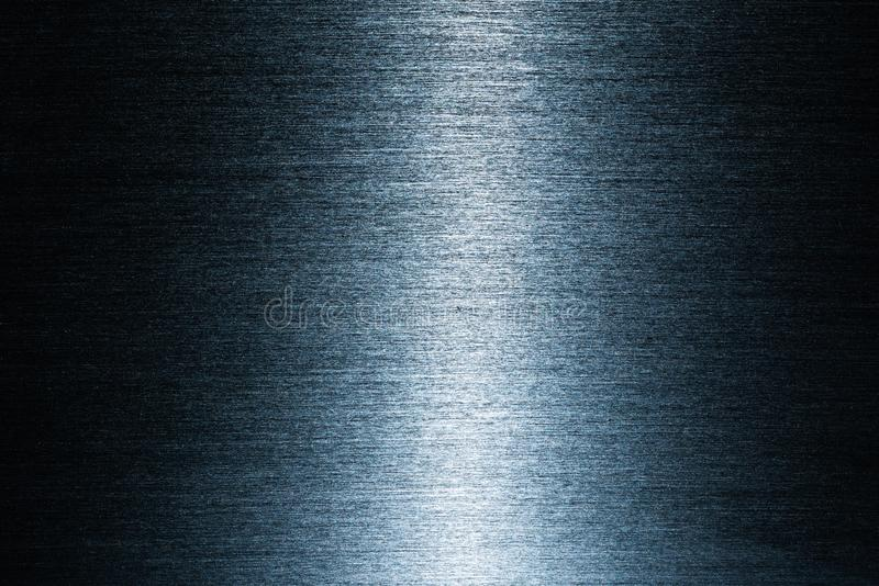 Black metaloppervlakte met vele kleine krassen royalty-vrije stock afbeelding