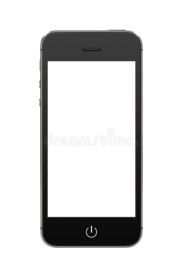 Free Black Modern Mobile Smart Phone With Blank Screen Royalty Free Stock Images - 36823039