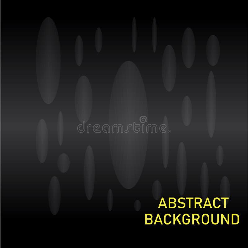 Black Modern technology background royalty free illustration