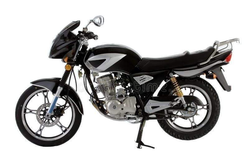 Black_motorbike Stock Image