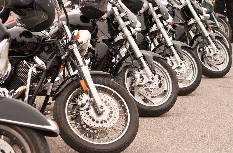 Black Motorcycles stock photos
