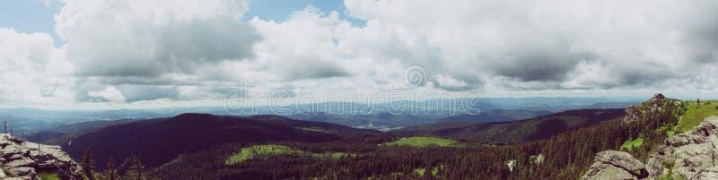 Black Mountains during Daytime royalty free stock image