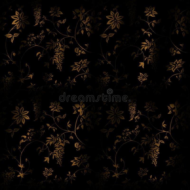 Black-n-gold-wall Free Public Domain Cc0 Image