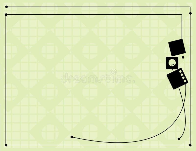 Black off-white line backgroun vector illustration