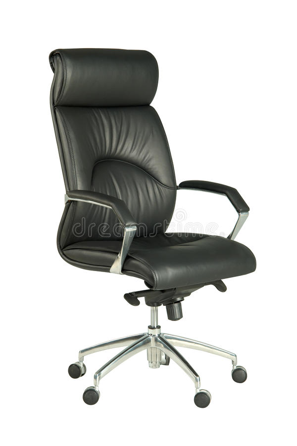 Download Black office chair stock image. Image of armed, chair - 21761231