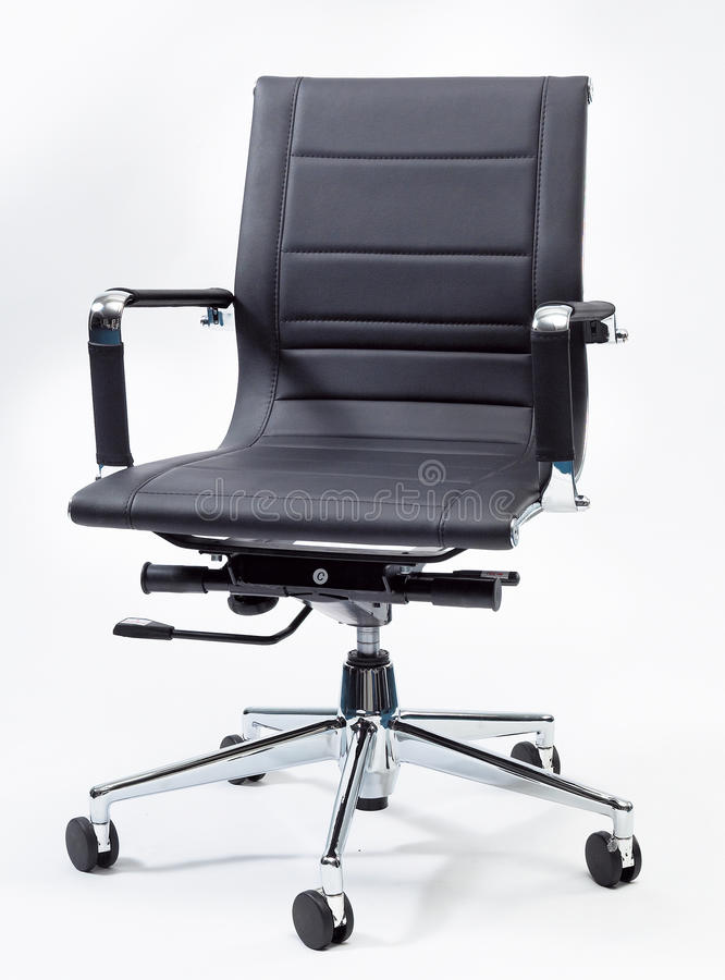 Black Office Chair royalty free stock images