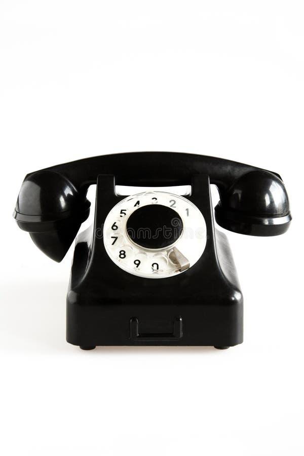 Free Black Old-fashioned Phone Stock Photo - 1077610