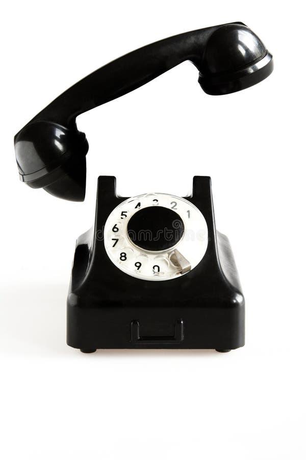 Free Black Old-fashioned Phone Stock Image - 1078401