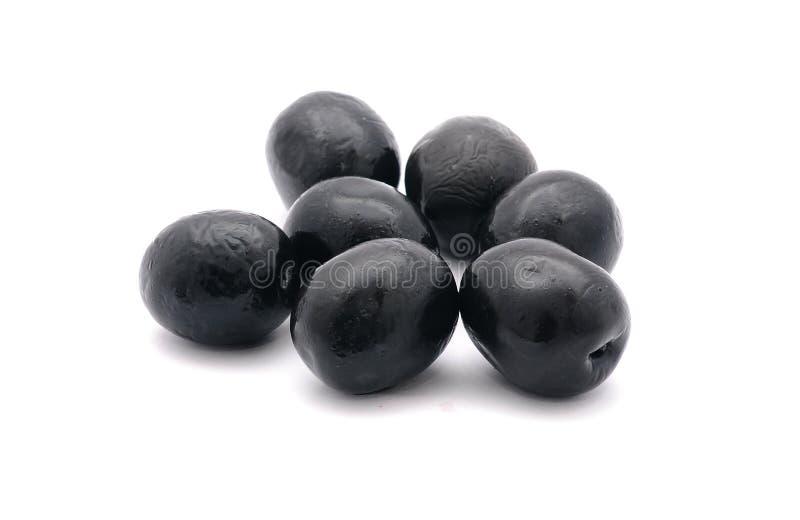 Black olives stock photo