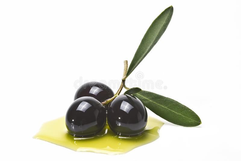 Download Black Olives Covered In Oil Stock Photo - Image: 21283840